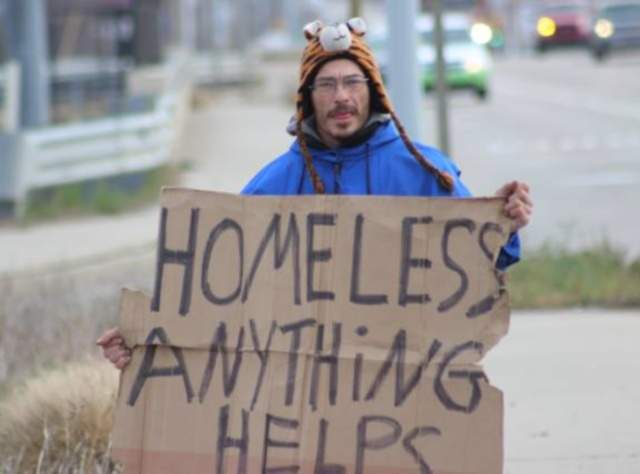 Image result for panhandler pictures